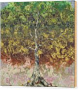 Great Sycamore Wood Print