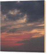 Great White Cloud Wood Print