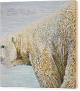 Great White Hunter Wood Print