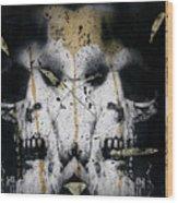 Grebo 02 Wood Print