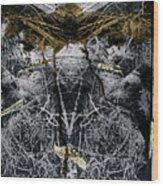 Grebo 03 Wood Print by Grebo Gray