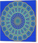 Grecian Tiles No. 2 Wood Print