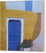Greece Painting  Wood Print