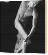 Greece: The Discobolus Wood Print