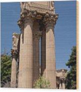 Greek Architecture Wood Print