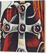 Greek Cross Wood Print