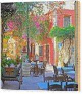 Greek Culture - 4162 Wood Print