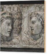 Greek Furneral Box Wood Print