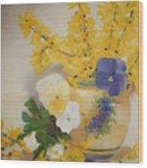 Greek Vase Wood Print
