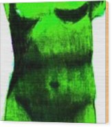 Green Aphrodite Wood Print