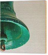 Green Bell Wood Print by Fabio Giannini