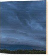 Green Cay Storm 2 Wood Print