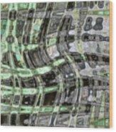 Green Dance Wood Print