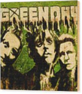Green Day Wood Print