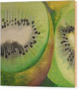 Green Ecstasy 2 Wood Print