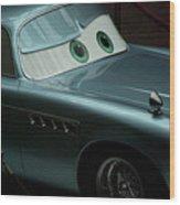 Green Eyed Finn McMissile MP Wood Print