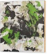 Green Field #2 Wood Print