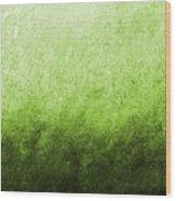 Green Fire Wood Print