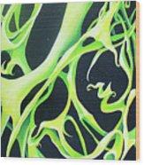 Green Ivy Wood Print