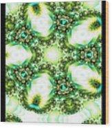 Green Jello Wood Print