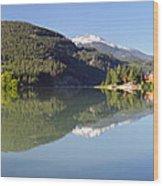 Green Lake Whistler Panorama Wood Print