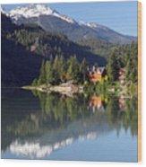 Green Lake Whistler  Wood Print