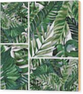 Green Life Wood Print