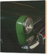 Green Mg Wood Print