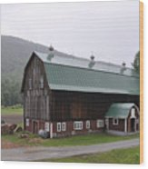 Green Mountain National Forest Barn Wood Print