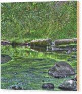 Green River Bend Wood Print