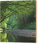 Green River Wood Print
