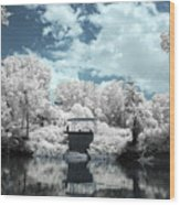Green River Ir Wood Print