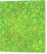 Green Spirits Wood Print
