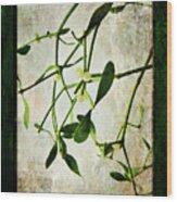 Green Tales  Wood Print