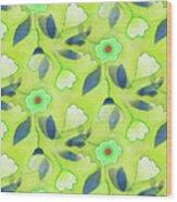 Green Tea Wood Print