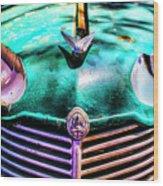 Green Vauxhaull Wood Print