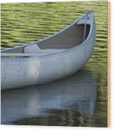 Green Water Wood Print