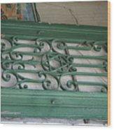 green with envy Jerusalem Wood Print