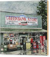 Greenbank Store Wood Print