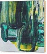 Greenish Wood Print