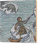 Greenland Eskimos, 1555 Wood Print