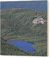 Greenleaf Hut - White Mountains New Hampshire  Wood Print by Erin Paul Donovan
