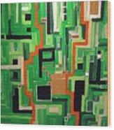 Greens Wood Print