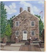 Greensburg Kentucky Courthouse Wood Print