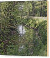 Greenway Wood Print