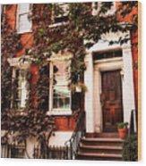 Greenwich Village Charm Wood Print