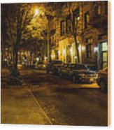 Greenwich Village Wood Print
