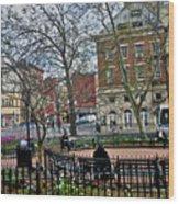 Greenwich Village New York City Wood Print