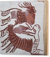 Greeting 7 - Tile Wood Print