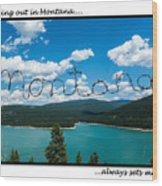 Greeting Cards - Set Me Free In Mt Wood Print